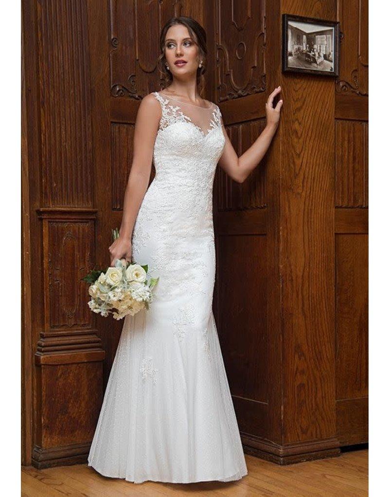 Mary's Bridal Mary's Bridal Mary's Bridal MB1004, Color: White, Size: 10