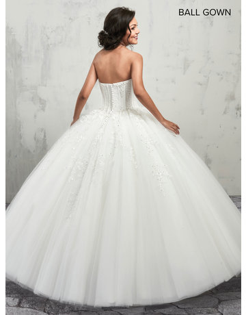 Mary's Bridal Mary's Bridal Mary's Bridal MB6001, Color: White, Size: 14