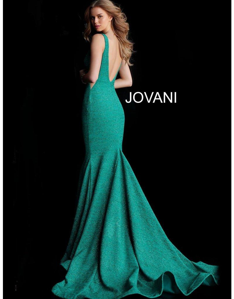 Jovani Jovani 47075, Color: Jade, Size: 10