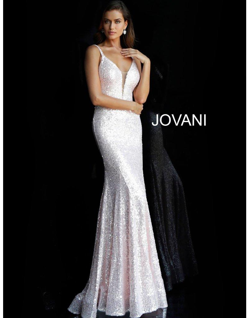 Jovani Jovani 66383, Color: Light Pink, Size: 8