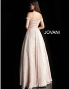 Jovani Jovani 66951, Color: Champagne, Size: 8