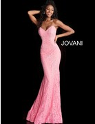 Jovani Jovani 37334, Color: Red, Size: 16