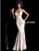 Jovani Jovani 67331, Color: Champagne, Size: 12