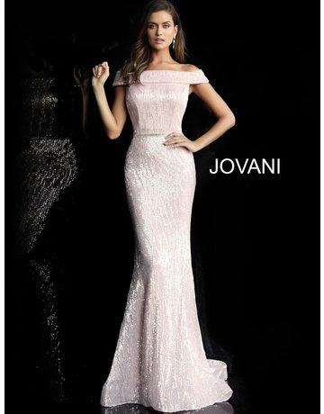 Jovani Jovani 66031, Color: Light Pink, Size: 16