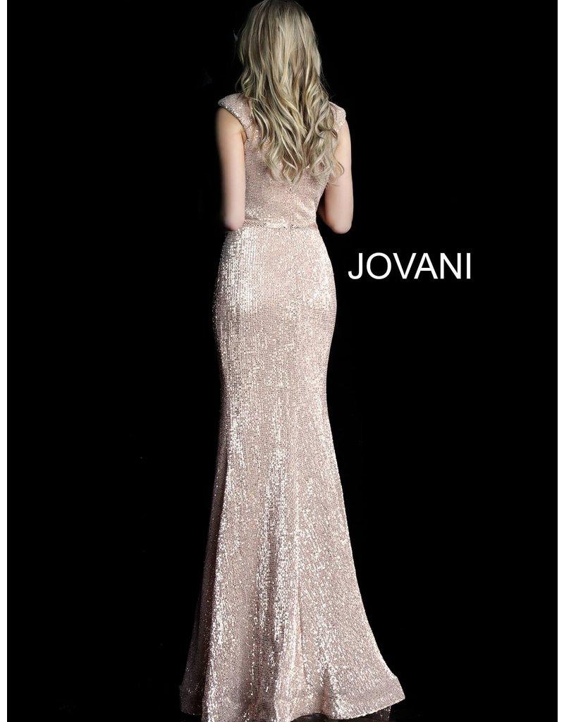 Jovani Jovani 62499, Color: Burgundy, Size: 16