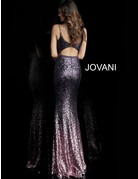 Jovani Jovani 65847, Color: Purple, Size: 18