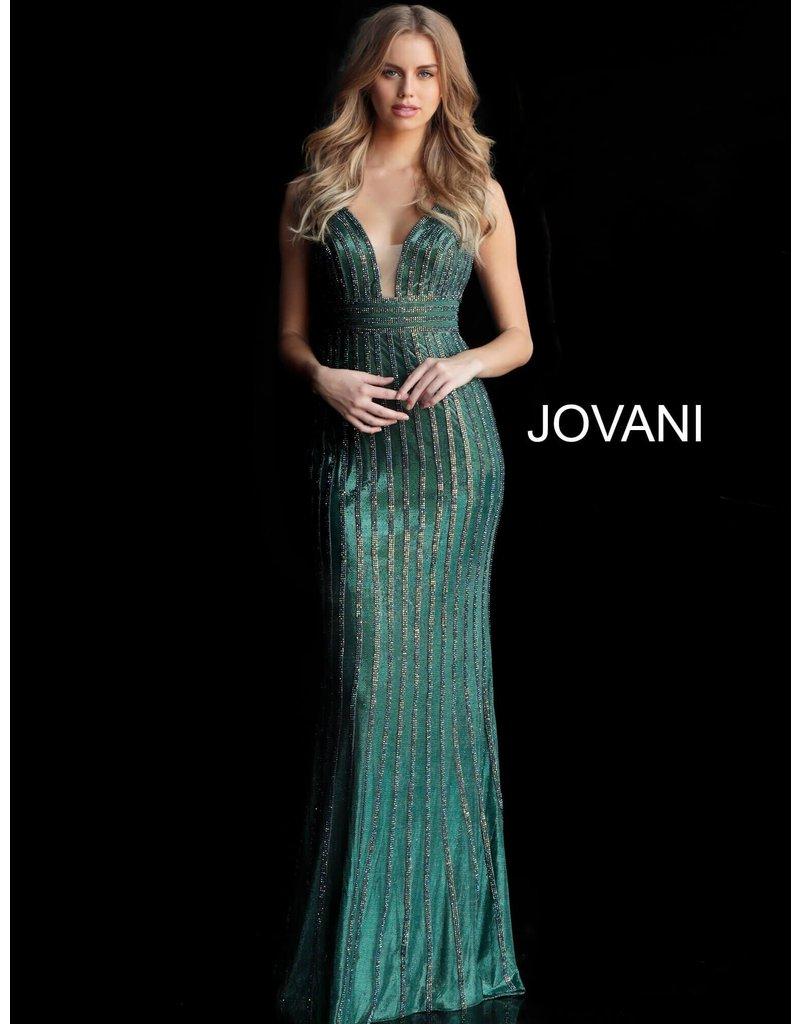 Jovani Jovani 65981, Color: Green, Sizse: 14