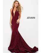 Jovani Jovani 55414, Color: Berry, Size: 16