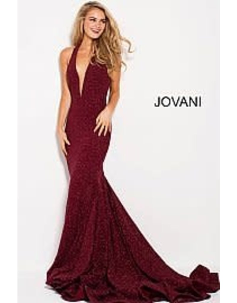 Jovani Jovani 55414, Color: Wine, Size: 12