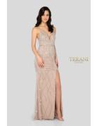 Terani Couture Terani Couture 1911P8112, Color: Blush/Nude, Size: 12