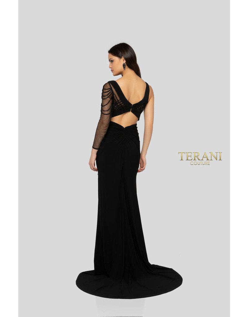 Terani Couture Terani Couture 1913P8392, Color: Black, Size: 12
