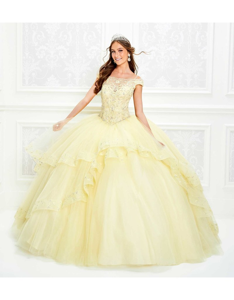 Princessa Ariana Vara Princesa 11926, Color: Light Yellow, Size: 10