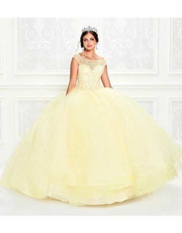 Princessa Ariana Vara Princesa 11935, Color: Light Yellow, Size: 14