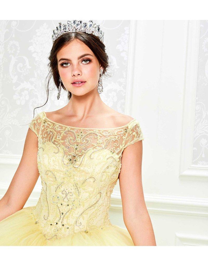 Princessa Ariana Vara Princesa 11935, Color: Light Yellow, Size: 14