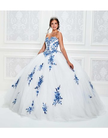 Princessa Ariana Vara Princesa 11928, Color: Diamond White/Royal, Size: 10