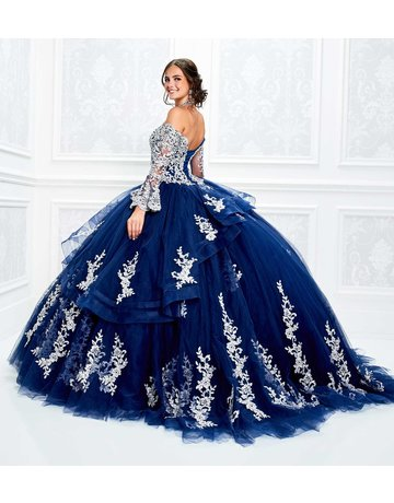 Princessa Ariana Vara Princesa 11927, Color: Navy/Silver, Size: 12