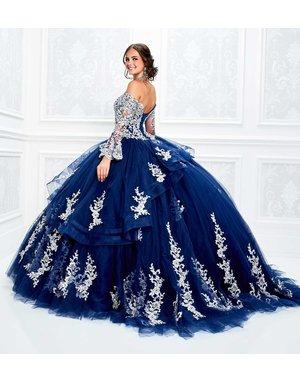 Princessa Ariana Vara Princesa 11927, Color: Navy/Silver, Size: 10