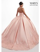 Mary's Quince Mary's Bridal Mary's Quince MQ3027, Color: Blush, Size: 10