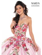 Mary's Quince Mary's Bridal Mary's Quince MQ2066, Color: Gold/Multi, Size: 10