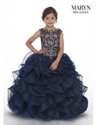 Mary's Angels Mary's Bridal Mary's Quince MQ4005, Color: Pewter/Multi, Size: 8