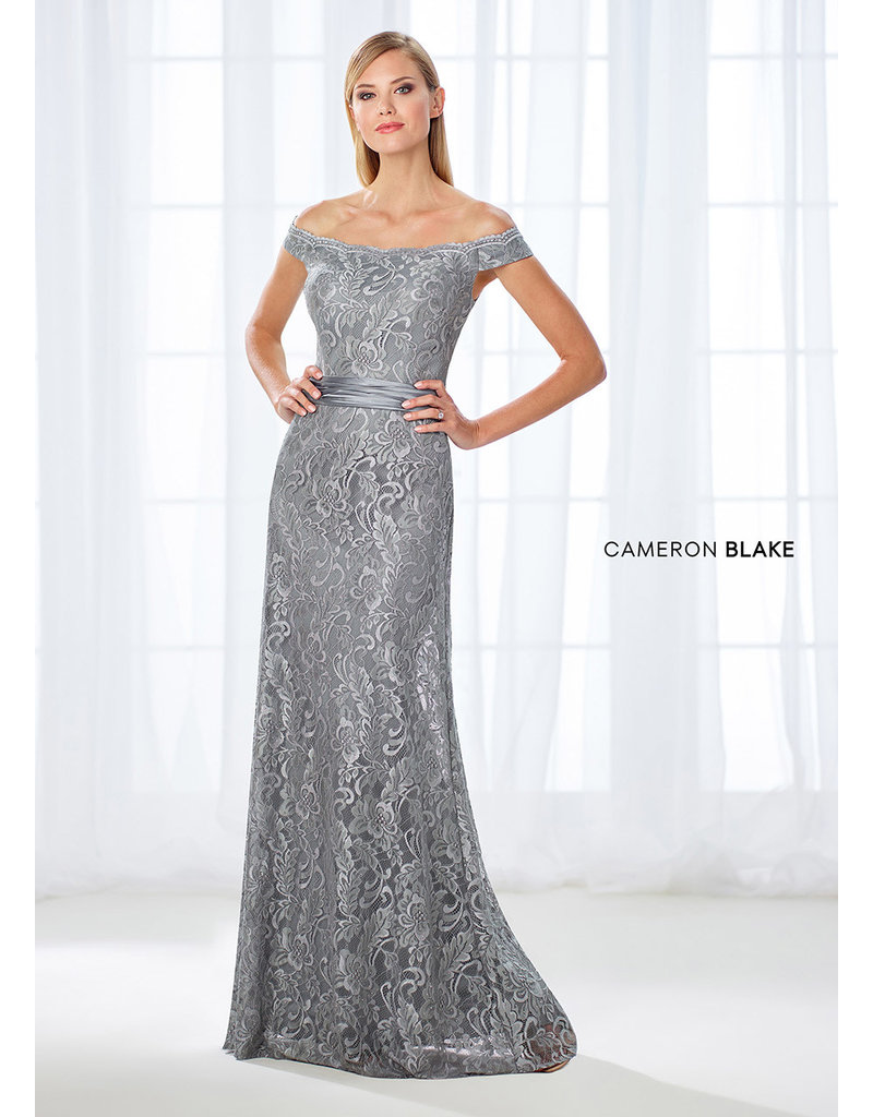 Cameron Blake Mon Cheri Cameron Blake Mother of the Bride 118670, Color: Blush, Size: 14