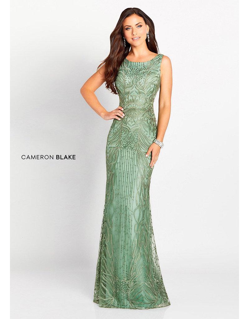 22278699d8b45 Cameron Blake Mon Cheri Cameron Blake Mother of the Bride 119644, Color:  Dark Sage ...