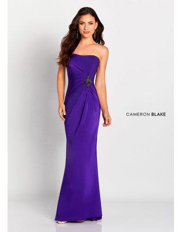 Cameron Blake Mon Cheri Cameron Blake Mother of the Bride 119650, Color: Grape, Size 20