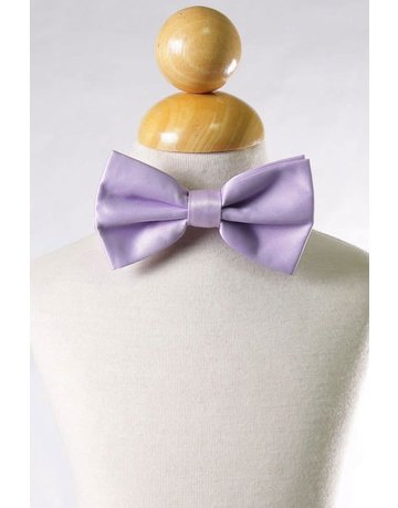 Calla Collection USA INC. Calla Collection Men's Polyester Bow Tie, Color: Lavender