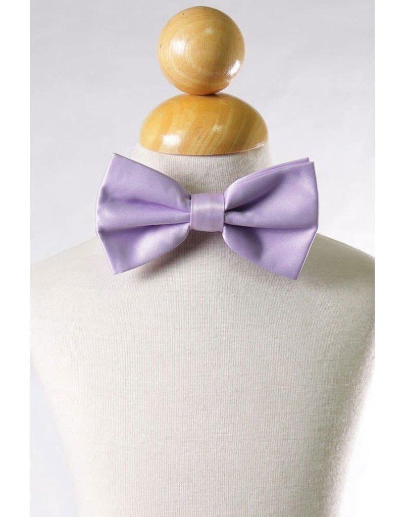 Calla Collection USA INC. Calla Collection Men's Polyester Bow Tie, Color: Lavender