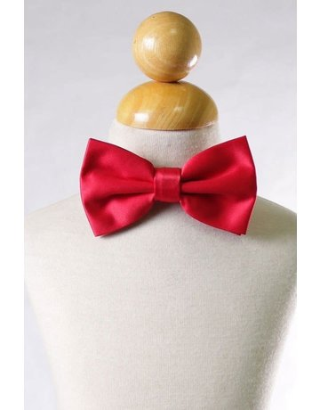 Calla Collection USA INC. Calla Collection Men's Polyester Bow Tie, Color: Red