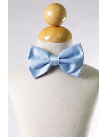 Calla Collection USA INC. Calla Collection Men's Polyester Bow Tie, Color: Light Blue