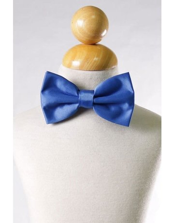 Calla Collection USA INC. Calla Collection Men's Polyester Bow Tie, Color: Royal Blue