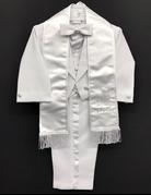 Lucky Imports Lucky Imports Boy's Angel Tuxedo, Color: White, Size: Medium