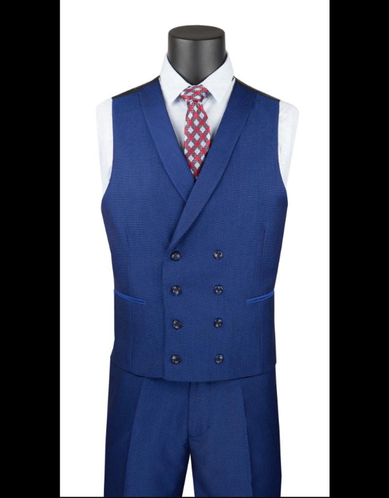 Vinci International Group Corp Vinci Men's Suit SV2R6, Color: Ruby, Size: 38S