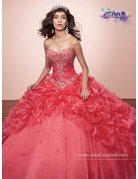 Mary's Quince Mary's Bridal Mary's Quince T178 Color: Geranium, Size: 4