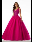Mori Lee Mori Lee Gown 42093ls, Color: Fuchsia, Size: 18