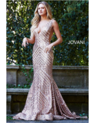 Jovani Jovani 59762, Color: Rose/Gold, Size: 10