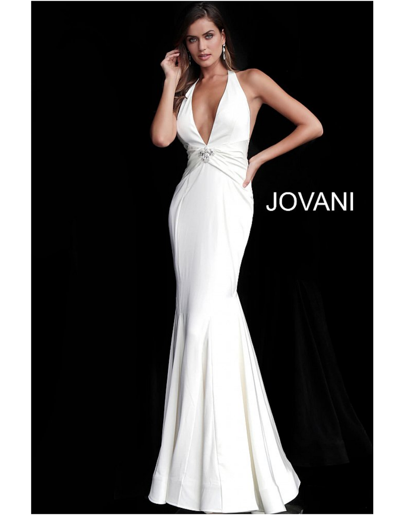 Jovani Jovani 66333, Color: White, Size: 8
