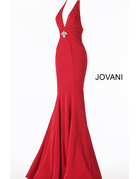 Jovani Jovani 66333, Color: Red, Size: 16