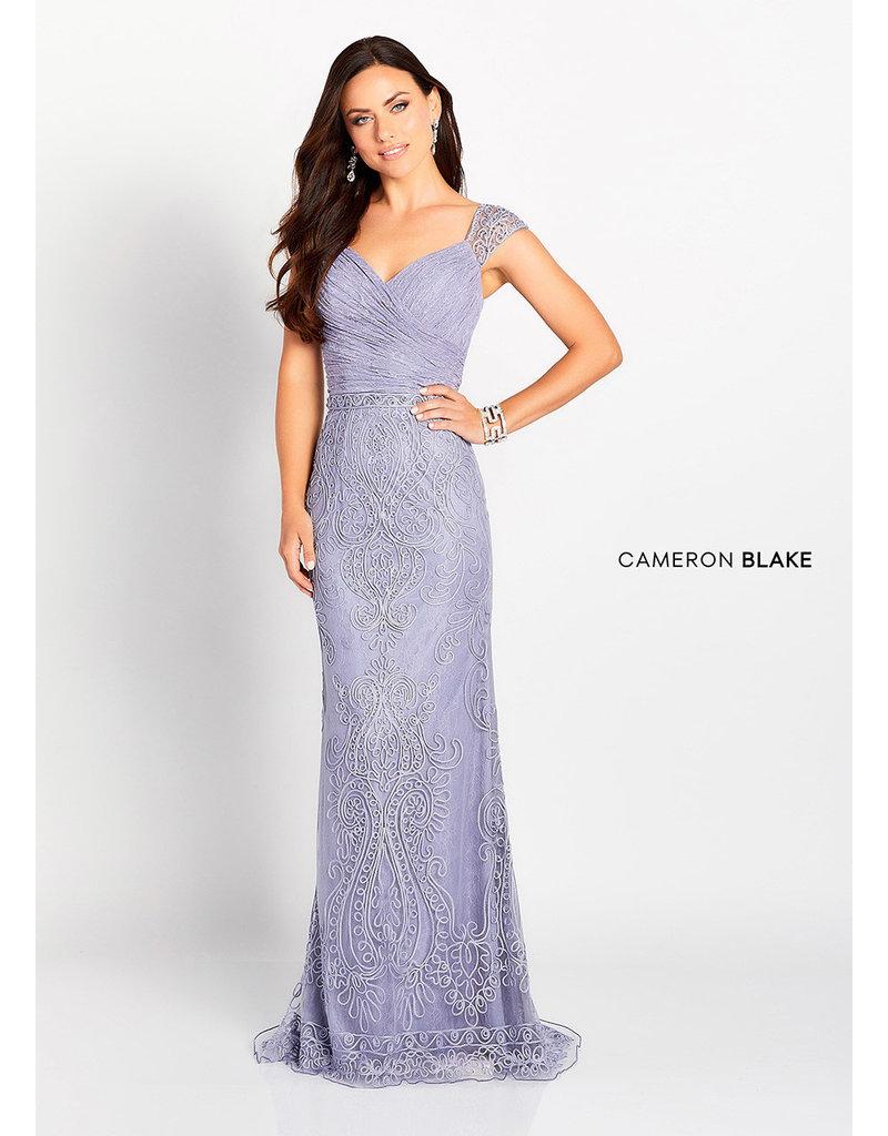 Cameron Blake Mon Cheri Cameron Blake Mother of the Bride 119643, Color: Heather, Size: 18
