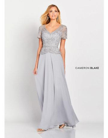 Cameron Blake Mon Cheri Cameron Blake Mother of the Bride 119663, Color: Silver, Size: 20