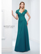 Montage Mon Cheri Montage Mother of the Bride 115974, Color: Teal, Size: 18
