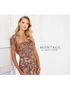 Montage Mon Cheri Montage Mother of the Bride 118961, Color: Bronze/Nude, Size: 16