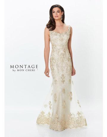 Montage Mon Cheri Montage Mother of the Bride 119933, Color: Gold, Size: 18