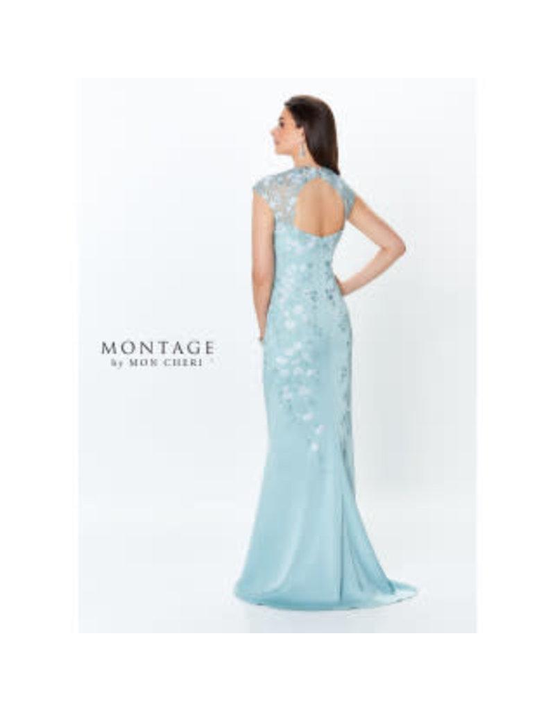 Montage Mon Cheri Montage Mother of the Bride 119952, Color: Aqua, Size: 16
