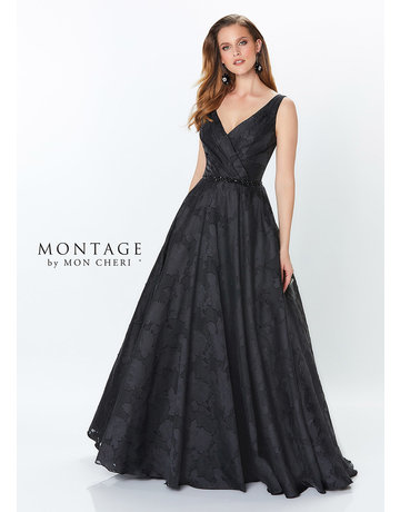 Montage Mon Cheri Montage Mother of the Bride 119960, Color: Black, Size: 16