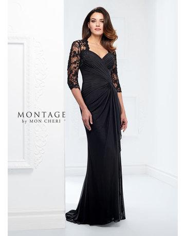 Montage Mon Cheri Montage Mother of the Bride 214943, Color: Black, Size: 20