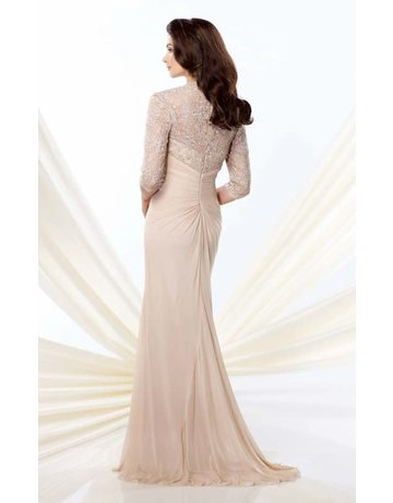 Montage Mon Cheri Montage Mother of the Bride 214943, Color: Champagne, Size: 16