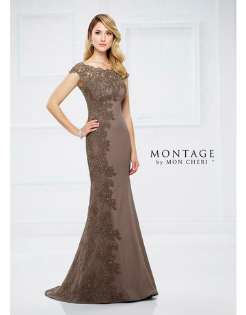 Montage Mon Cheri Montage Mother of the Bride 217948, Color Mocha, Size: 16