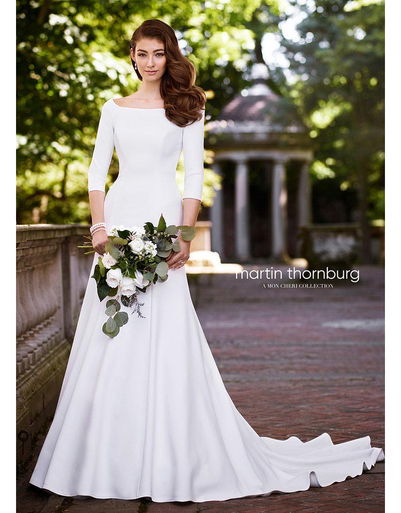 Martin Thornburg Mon Cheri Martin Thornburg 119255, Color: Diamond White, Size: 14